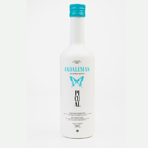 Andalusian - diseño de packaging aceite de oliva virgen extra Jaén