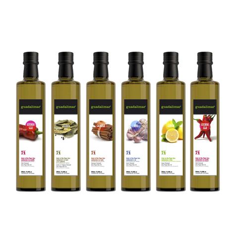 Aceites Guadalimar - packaging aceite de oliva virgen extra en Jaén