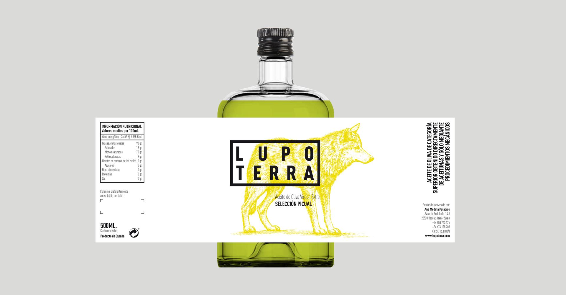LUPOTERRA aceite de oliva virgen extra